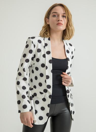 Foremia Ceket Beyaz
